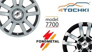 Литой диск Fondmetal 7700 Black polished и Silver на 4 точки. Шины и диски 4точки - Wheels & Tyres