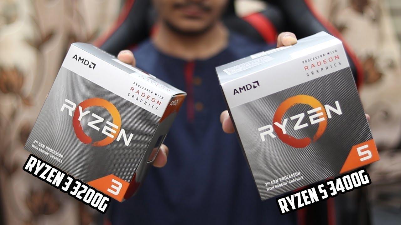 RYZEN 3000 Unboxing!! Ryzen 3 3200G & Ryzen 5 3400G!