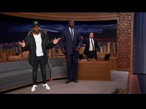 'Mans Not Hot' Performed on Jimmy Fallon Show for Shaquille O'Neal Entrance