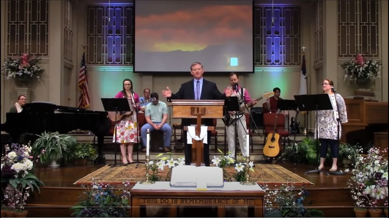 Easter Sunday at First Baptist Thomson, Streaming License 201531172