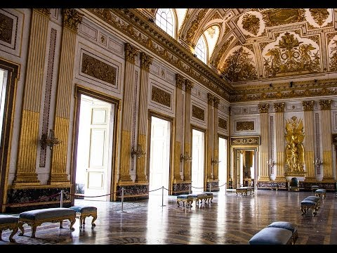 Royal Palace of Caserta  - Italy ,  Part 2  -  Interiors