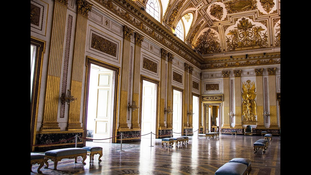 Beau Royal Palace Of Caserta   Italy , Part 2   Interiors   YouTube