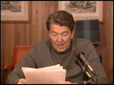 President Reagan's Radio Address to the Nation on the Oil Industry on April 19, 1986