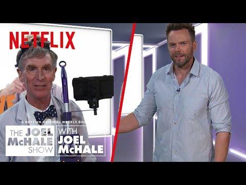 Did Bill Nye Just Invent Time Travel?  Joel McHale   Netflix