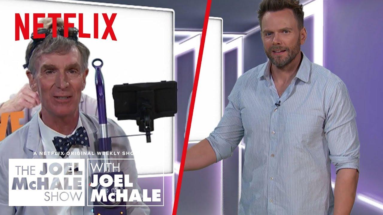 Download Did Bill Nye Just Invent Time Travel? | Joel McHale Show | Netflix
