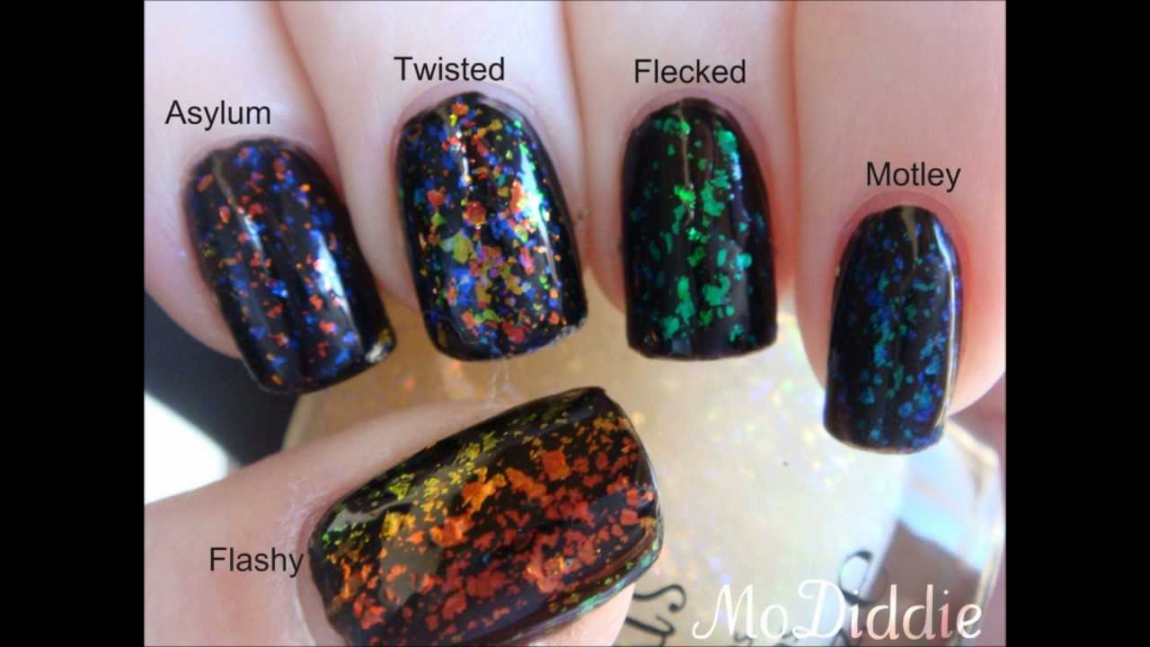 FINGER PAINTS FLAKIE SPECIAL EFFECTS COLLECTION HAUL AND SWATCHES ...