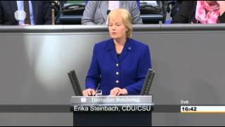 Erika Steinbach zur Presse- und Meinungsfreiheit in der Türkei