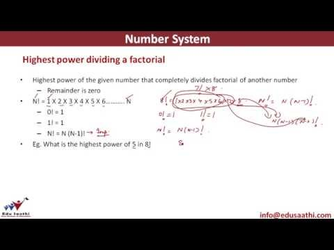 Highest Power Dividing a Factorial