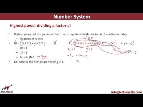 Highest Power Dividing a Factorial