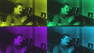 Иосиф Сталин - Выступление И.В. Сталина (видеоархив) Часть 1