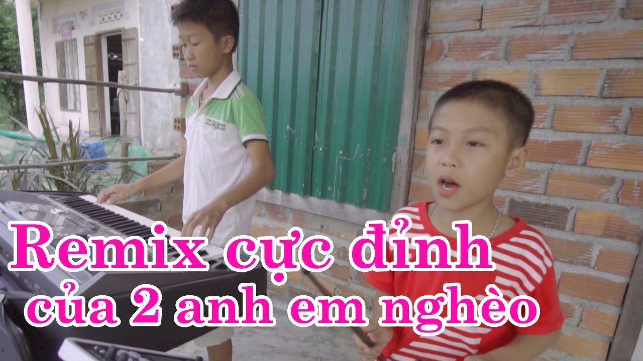 2 anh em nghèo gây bão mạng với tài chơi nhạc cực đỉnh - Lòng mẹ [Karaoke]