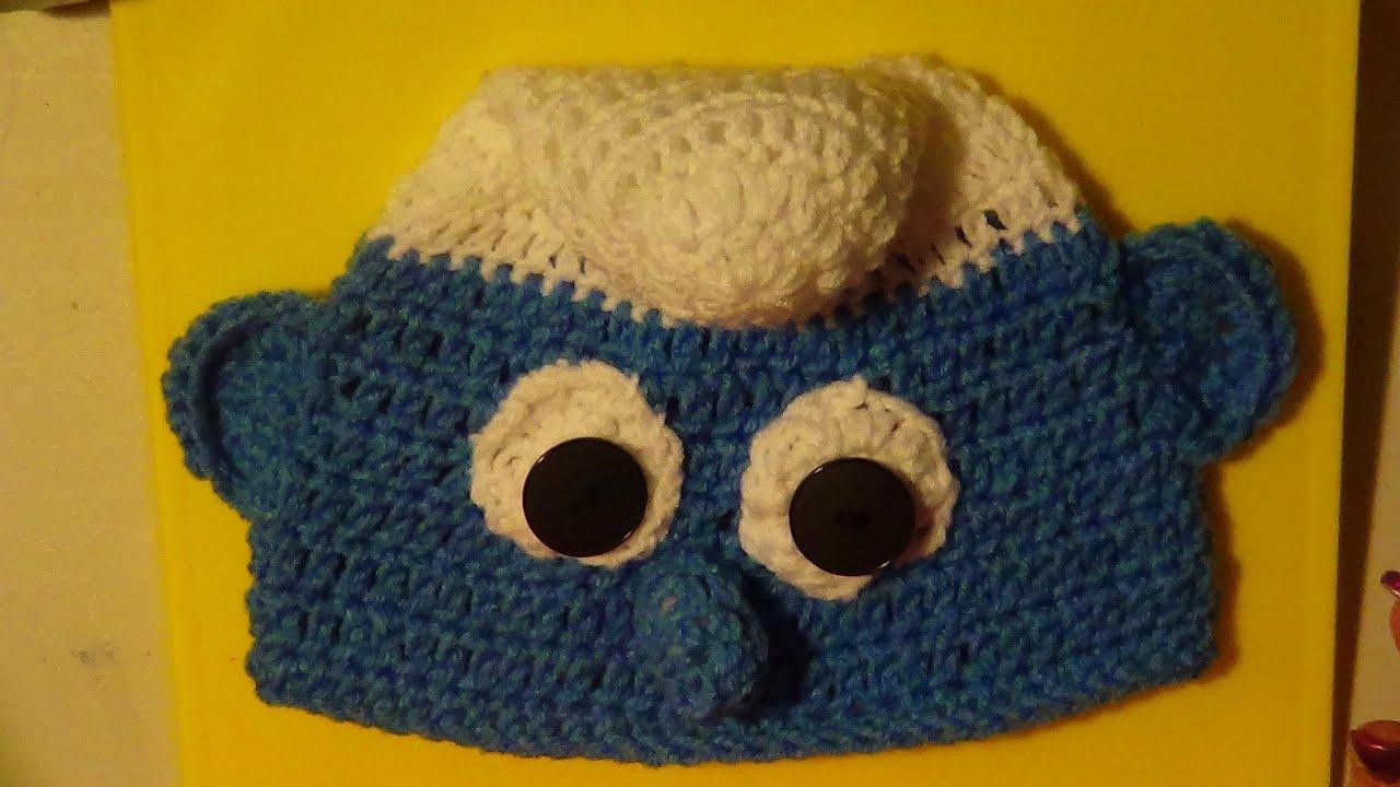 Inspired Smurf Hat - Left Handed - YouTube