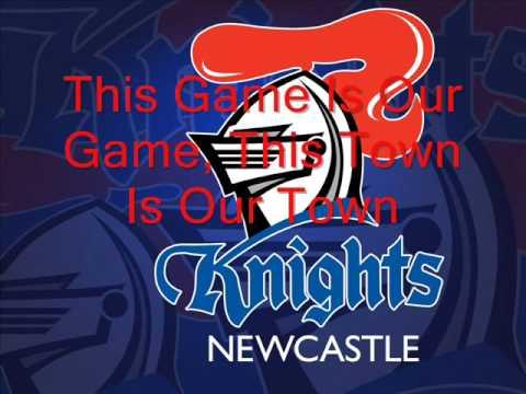 Go Hard Go Knights, Newcastle Knights Theme W\Lyrics