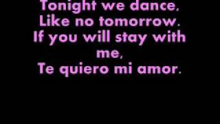 Enrique Iglesias-Bailamos Lyrics