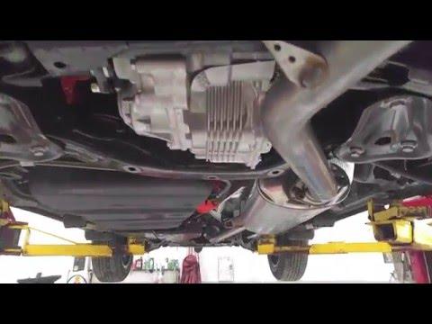 2016 Rav4 HYBRID Under Car!  YouTube