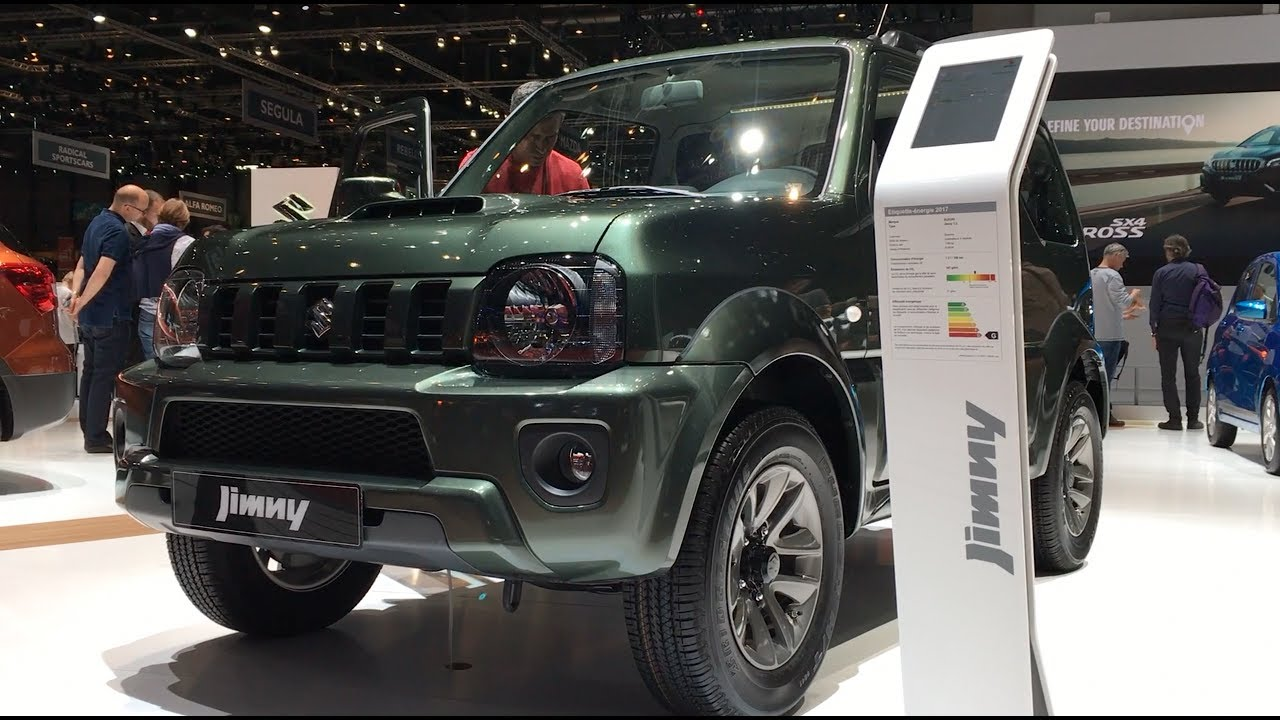 suzuki jimny 2017 in detail review walkaround interior. Black Bedroom Furniture Sets. Home Design Ideas