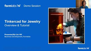 [TUTORIAL] Tinkercad for Jewelry - 3D Printing a Ring [ft. Lizz Hill]