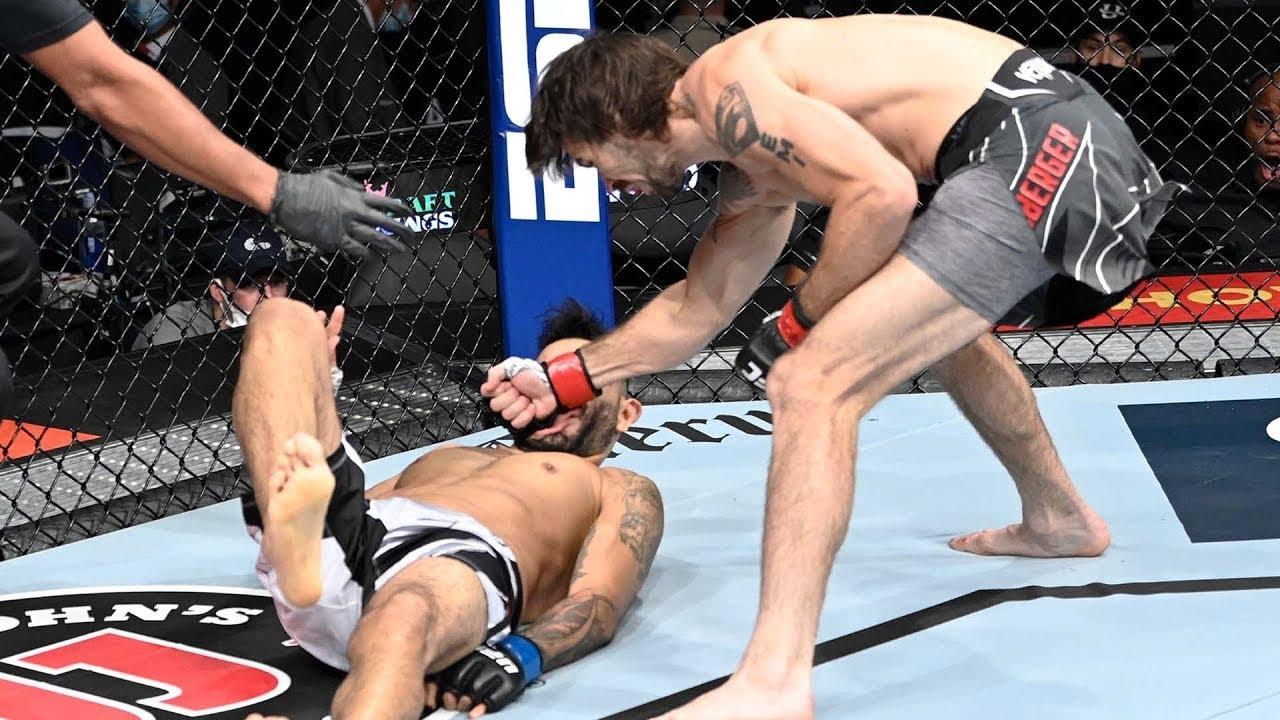Лучшие финиши сентября на UFC Fight Pass