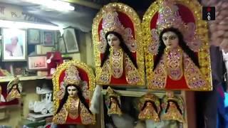 Durga Idols On The Way To Pandal From Kumartuli, Kolkata thumbnail