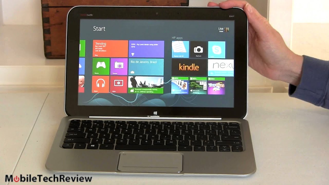 Hp Envy X2 Review Youtube