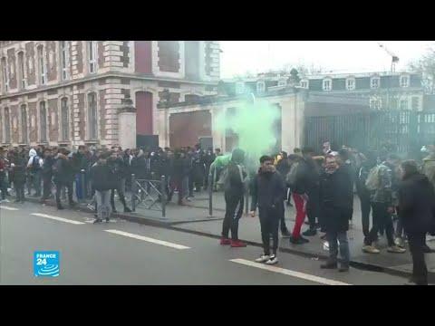 الاحتجاجات تصل للمدارس والجامعات الفرنسية  - نشر قبل 30 دقيقة