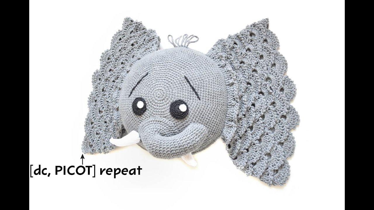 Crochet Picot Stitch Tutorial by IraRott - YouTube