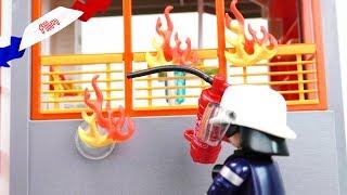 Film Playmobil en français | Feu à l'hôpital | Pompiers en action | Partie2