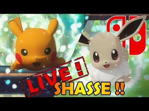 SHASSE AUX SHINYS DANS POKEMON LET'S GO !!! - NINTENDO SWITCH thumbnail