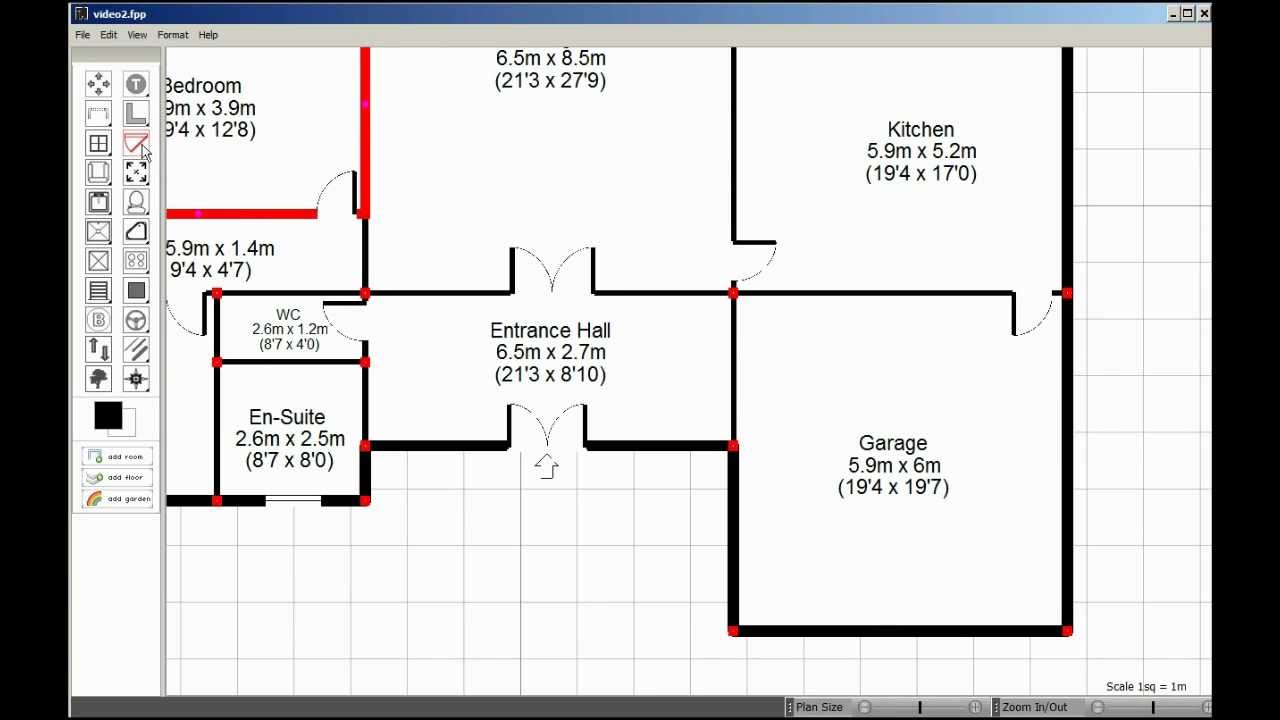 Visual Floorplanner How To Create Floorplans Fast Youtube
