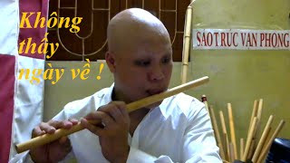 Không thấy ngày về ( Lã Phong Lâm ) - Cover sáo trúc Vạn Phong