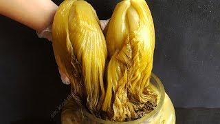 Cách Làm Dưa Cải muối chua Vàng Giòn tự nhiên để được lâu