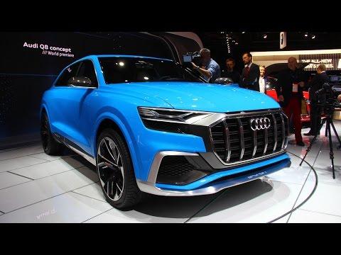 Audi Q8 e-Tron Concept First Look: 2017 Detroit Auto Show