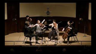 Shostakovich Quintet Mvt 1 -- Gildas Quartet, Joanna MacGregor, Wigmore Hall 2020