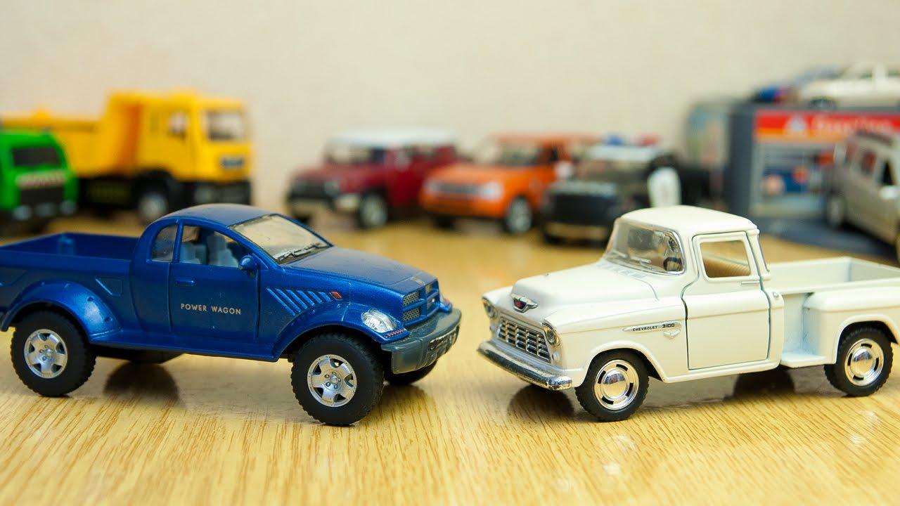 Машинки - Мир машинок - 90 серия:  Ретро автомобиль, пикап, кабриолет.  Развивающие мультики.
