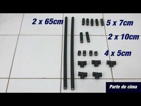 Como fazer Rack para Guitarra/Violão/Baixo com canos PVC