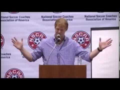 2013 NSCAA Summer Symposium Keynote - Alexi Lalas on Player