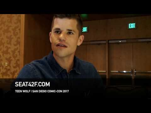 Charlie Carver TEEN WOLF  Comic Con