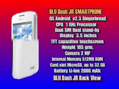 BLU Dash JR Video Review