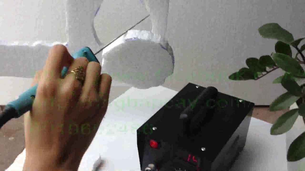máy cắt xốp cầm tay
