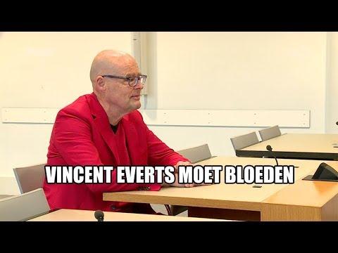 Vincent Everts moet bloeden