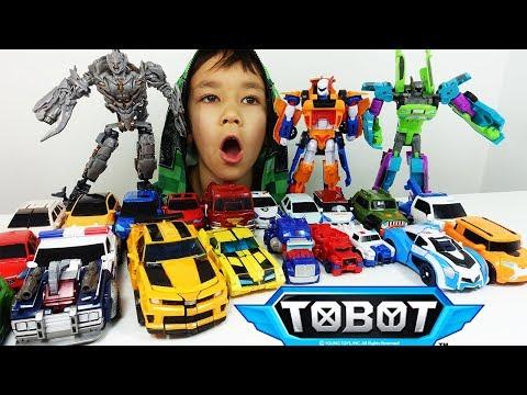 ТОБОТЫ 2019 Челлендж и Тоботы Трансформеры игрушки мультик тоботы вперед. Tobot машинки-трансформеры