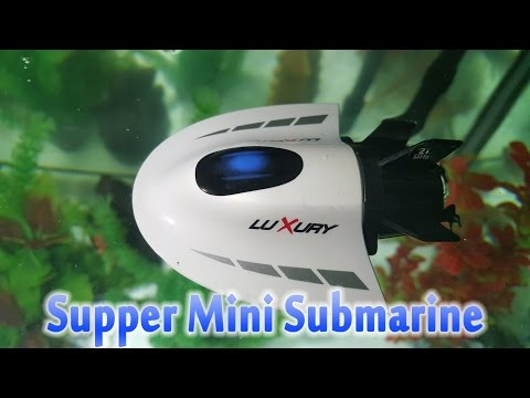 TEST And Disassembly Create Toys Super Mini Submarine