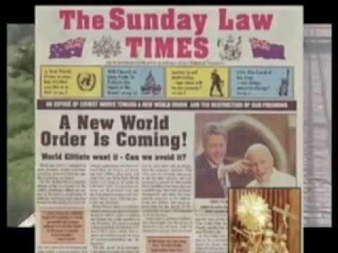 AMERICA & VATICAN SUNDAY LAW Deception WILL END YOUR LIFE – Illuminati Behind the Scenes