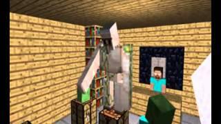 Monster School Crafting   Minecraft Animation