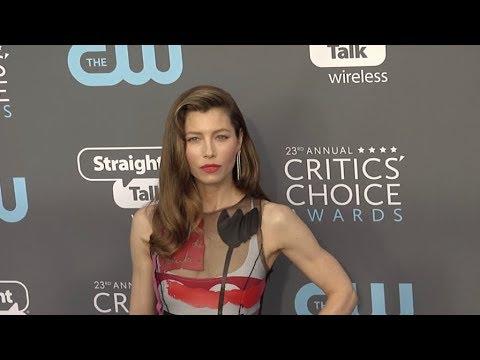 Jessica Biel at The 23rd Annual Critics Choice Awards
