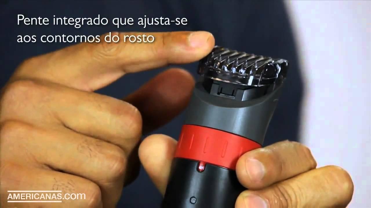 Artesanato Mdf Caxias Do Sul ~ Aparador de Barba QT4019 15 Philips Americanas com YouTube