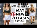 New Lululemon May Release's Try-On & Review