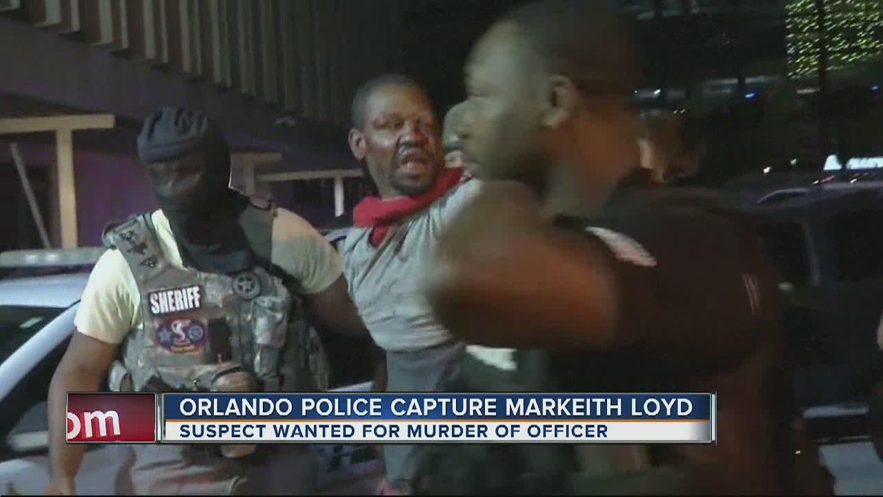 Orlando police capture Markeith Loyd