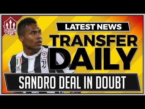 Alex SANDRO Deal Off? Man Utd Transfer News