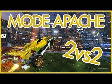 Rocket League - MODE APACHE 2vs2 AVEC wesh92 TonYDarK et DarkHeaven !